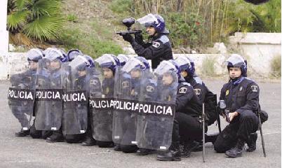 ARBORICIDIO CON VIOLENCIA POLICIAL EN HOYA DE LA PLATA (GRAN CANARIA)