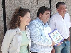 Los Verdes.- Rafael Rodríguez Santana y Leticia Álamo encabezan la lista por Las Palmas de Gran Canaria.